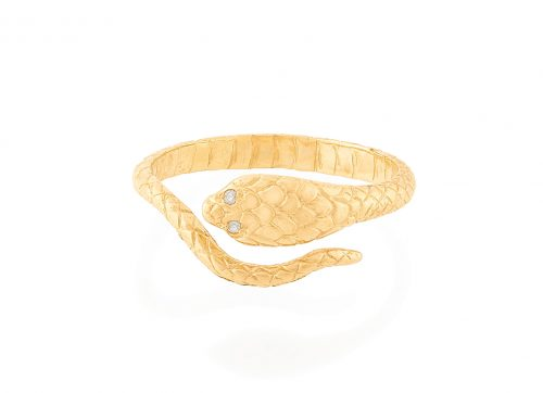 yellow gold from the earth cobra diamonds ring celine daoust