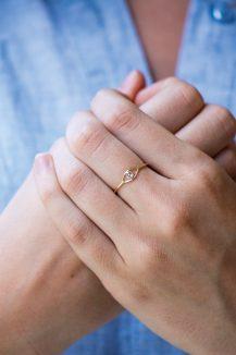 celine daoust protection believes diamond iris eye ring