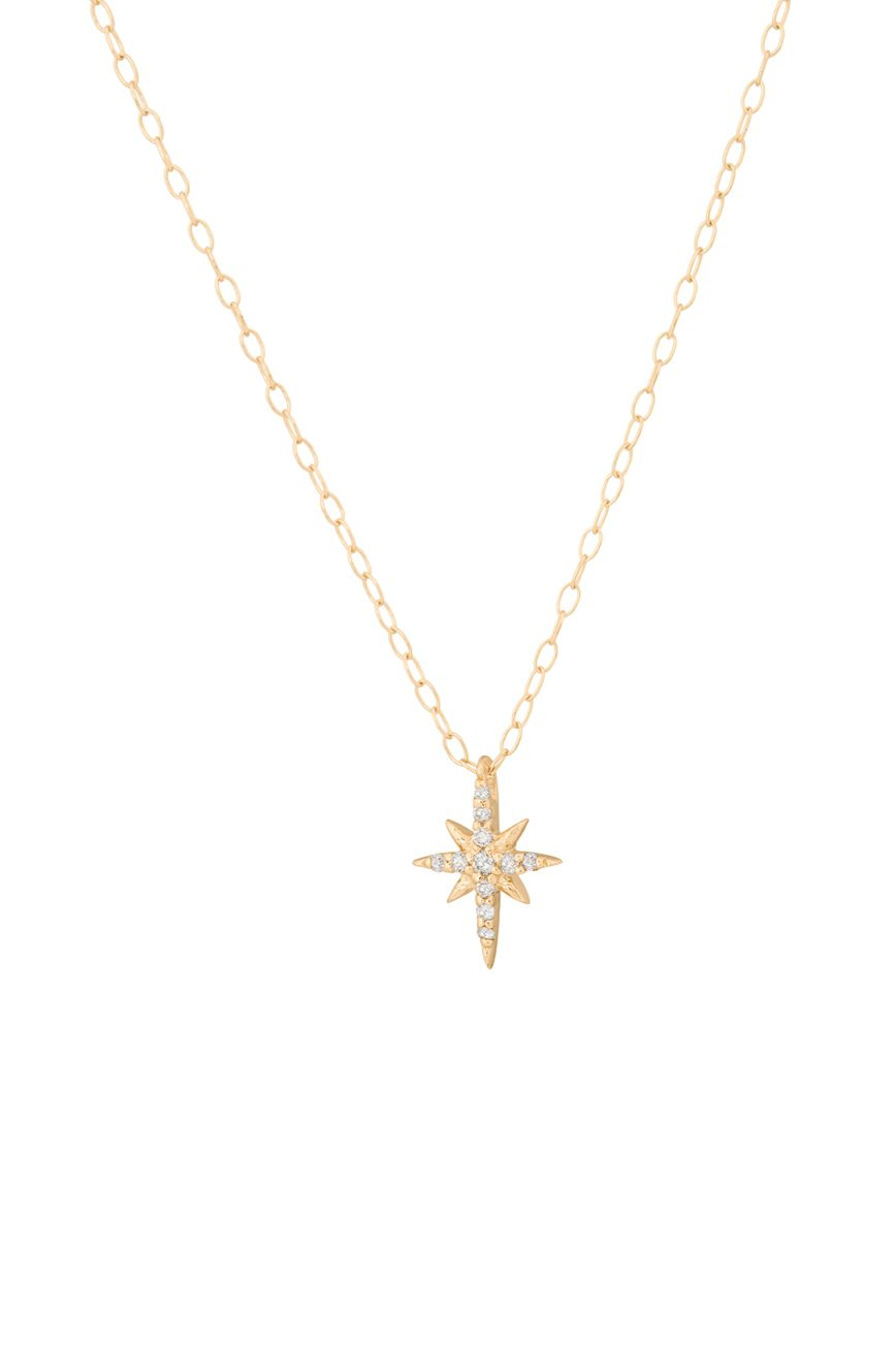 pendant layla mae star zoom product gold necklace image delicate north aluna