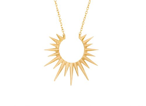 Celine Daoust Stars and Universe Small Full Sun Necklace