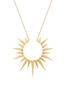 Celine Daoust Stars and Universe King Sun Necklace
