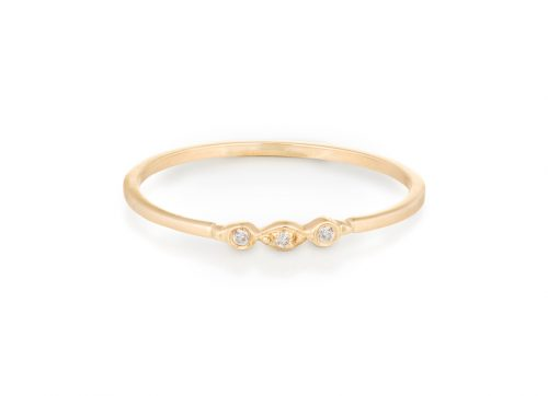 yellow gold protection and believes tiny diamonds eyes ring celine daoust