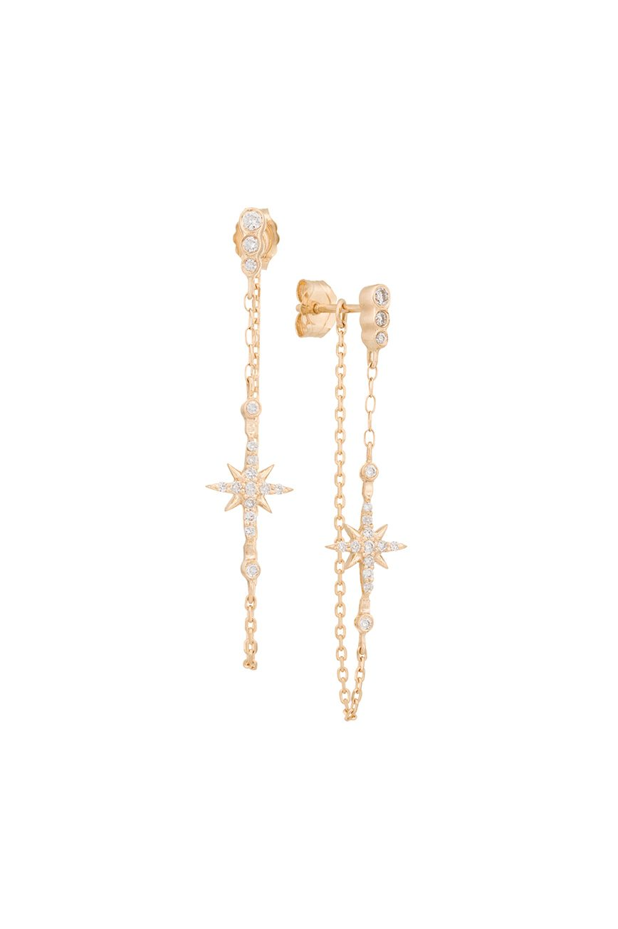 a98c07e55b3ee NORTH STAR CHAIN EARRINGS
