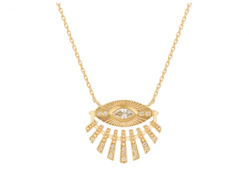 Celine Daoust Protection and Believes Sun Eye Necklace