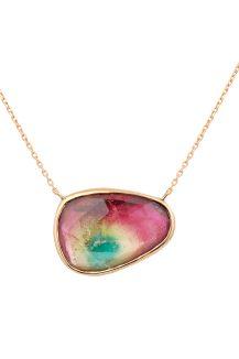 Celine Daoust rose gold maya tourmaline necklace