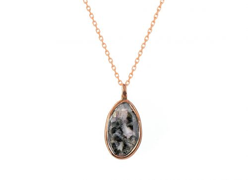 Celine Daoust Diamond Slice One of a kind necklace