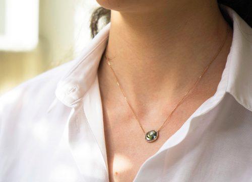 rose gold stella tourmaline and diamonds celine daoust