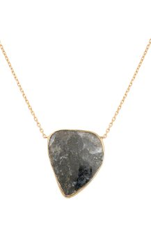 Celine Daoust Grey Diamond Slice One of a kind necklace