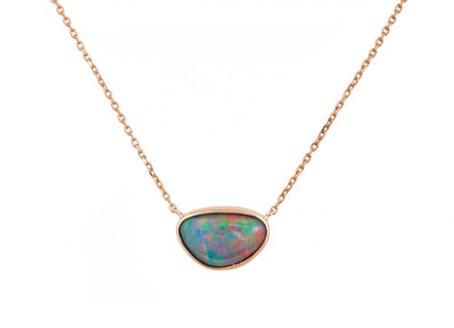CELINE DAOUST AUSTRALIAN OPAL NECKLACE ONE OF A KIND