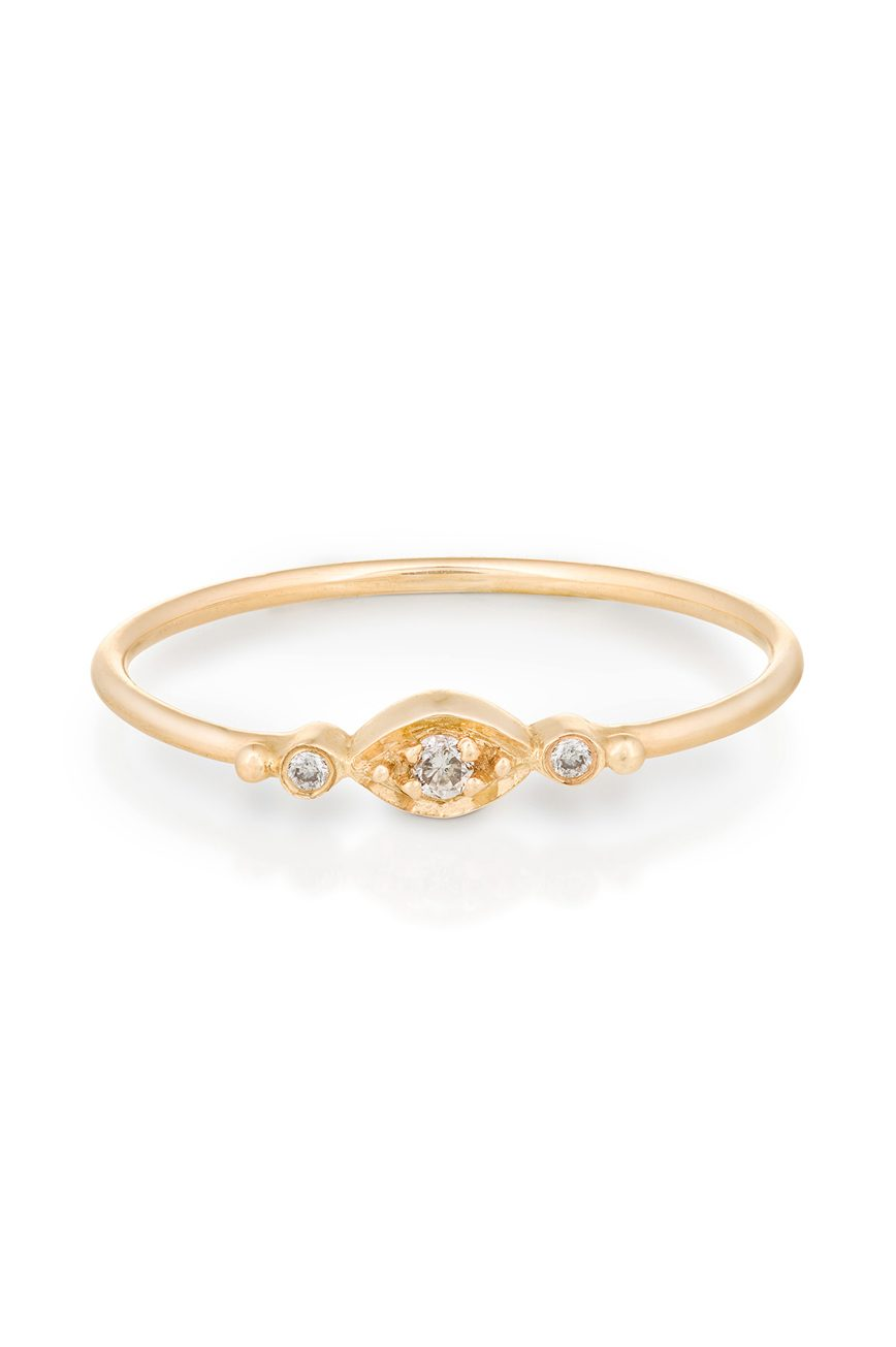 yellow gold white diamonds protection and believes eye diamonds ring