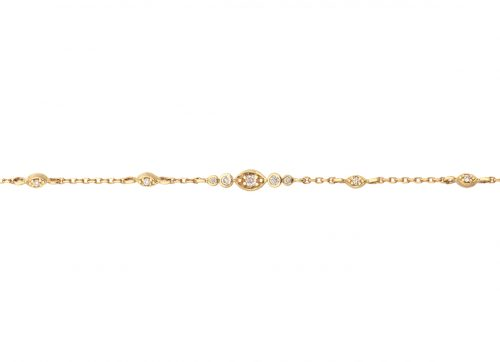Celine Daoust Protection And Believes Multi Diamonds Eyes Bracelet