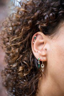 celine daoust constellation dreamcatcher moonstone and diamonds hoop earrings