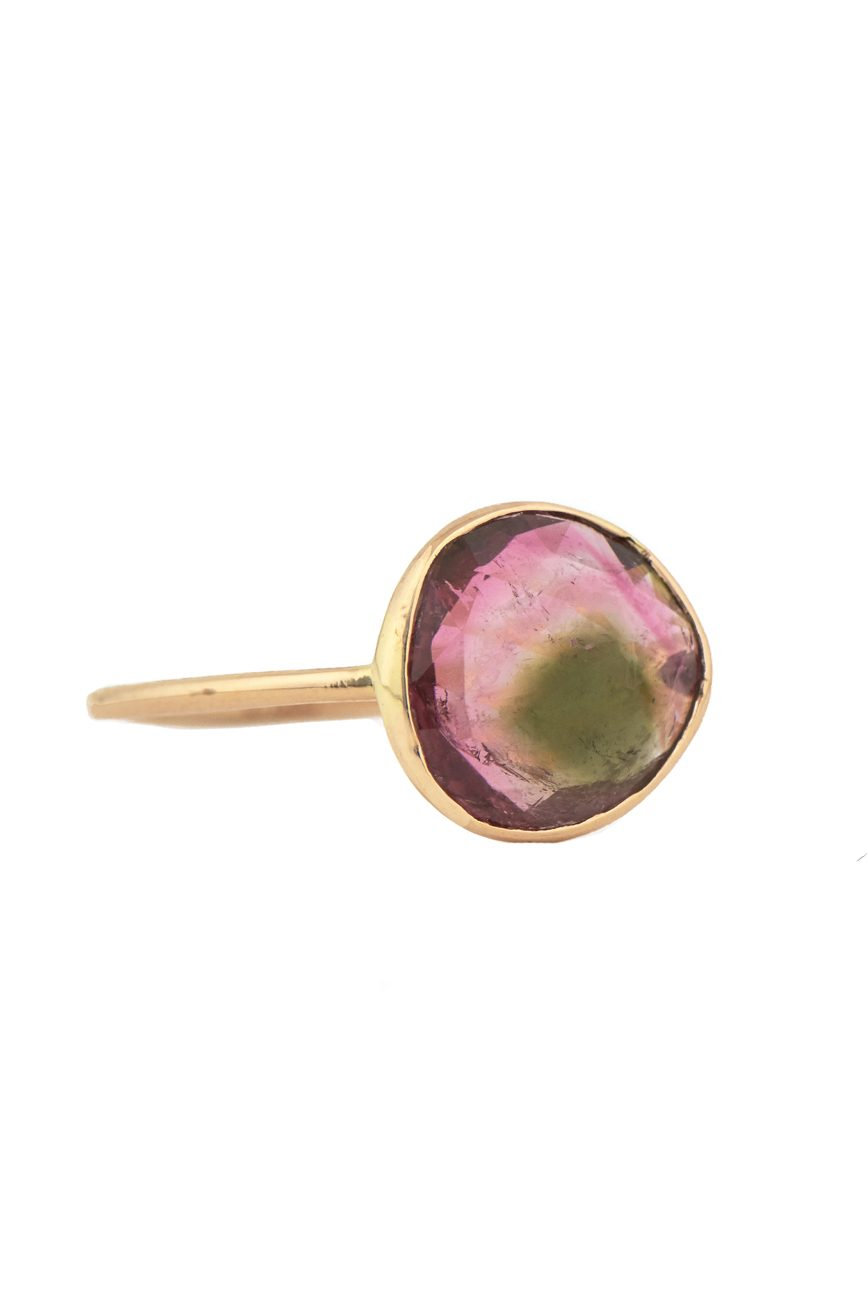 Celine Daoust_One of a Kind Maya tourmaline Ring