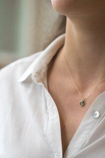 Celine Daoust One of a Kind Maya Tourmaline Necklace