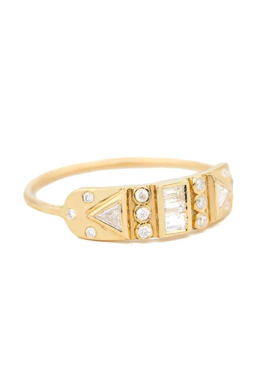 Celine Daoust Guardian Spirit Totem Diamond Ring