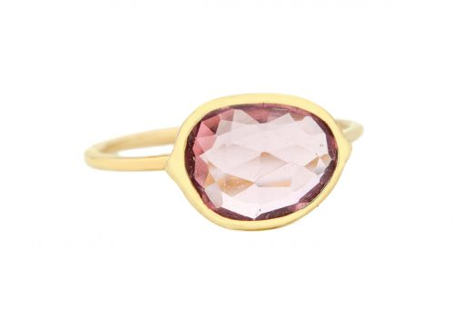 Celine Daoust One of a Kind Maya Pink Tourmaline Ring