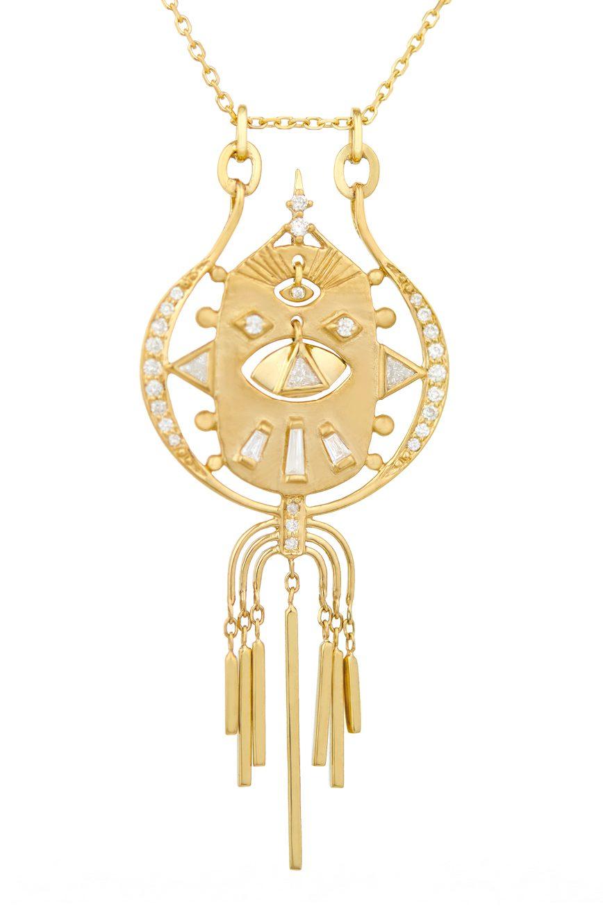 Celine Daoust Mandala Diamonds Chain Necklace