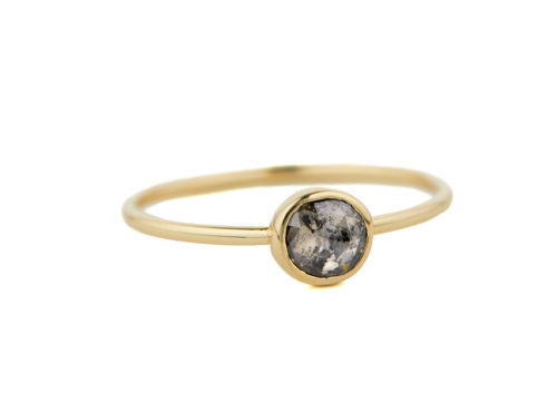 Celine Daoust Slice of the Universe Maya Grey diamond Ring.