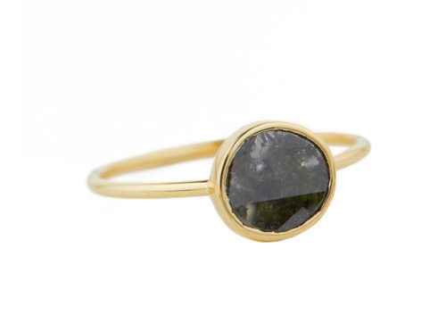 Celine Daoust Slice of the Universe Maya Grey diamond Ring