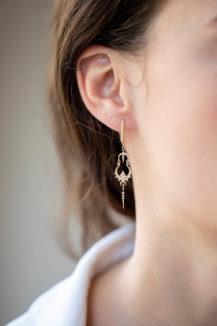 Celine Daoust Mandala Diamonds Earring