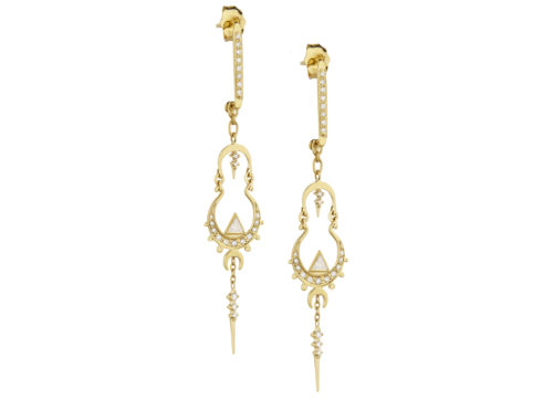 Celine Daoust Mandala Diamonds Earring