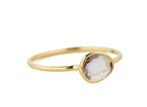 Celine Daoust One of a Kind Grey Maya tourmaline Ring.
