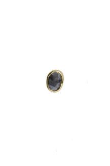 Celine Daoust One of a Kind single grey diamond stud earring
