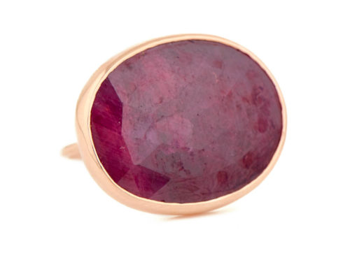 Celine Daoust One of a Kind Faye Ruby Ring