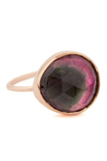 Celine Daoust One of a Kind Pink Faye Tourmaline Ring.