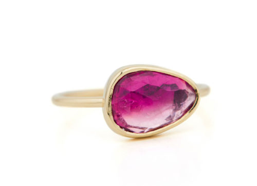 Celine Daoust One of a Kind Faye Pink Tourmaline Ring