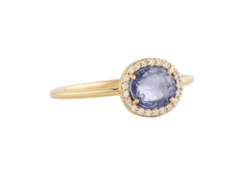 Celine Daoust One of a Kind Stella Sapphire and Diamond Ring