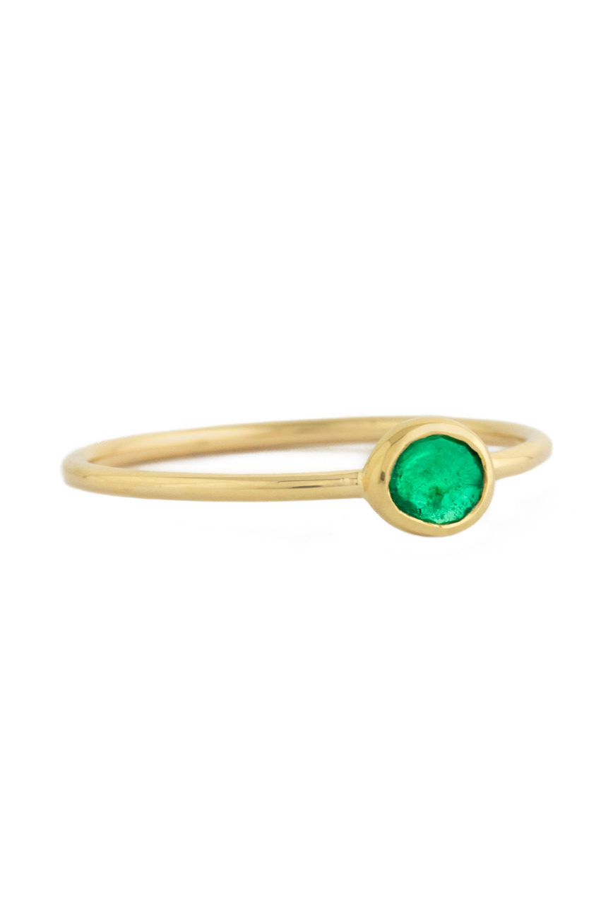 Celine Daoust One of a Kind Faye Emerald Ring