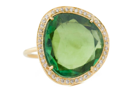 Celine Daoust_One of a Kind Stella Tourmaline and Diamond Ring