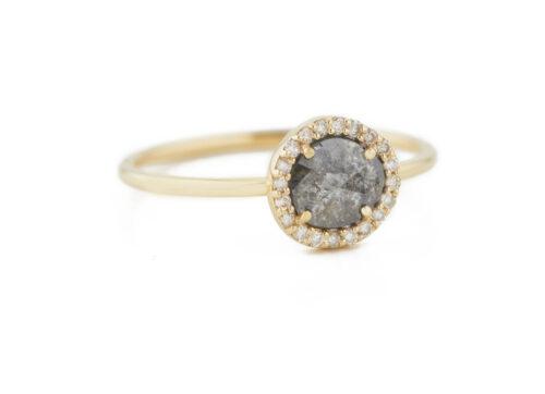 Celine Daouts Slice of the Universe Stella Grey Diamond slice and Diamonds Ring