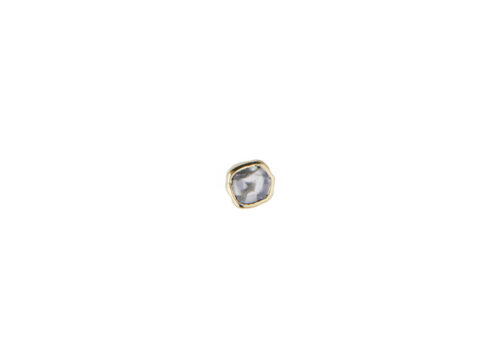 Celine Daoust One of a Kind single grey diamond stud earring