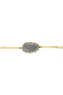 Celine Daoust One of a Kind Grey Diamond Articulated Bracelet