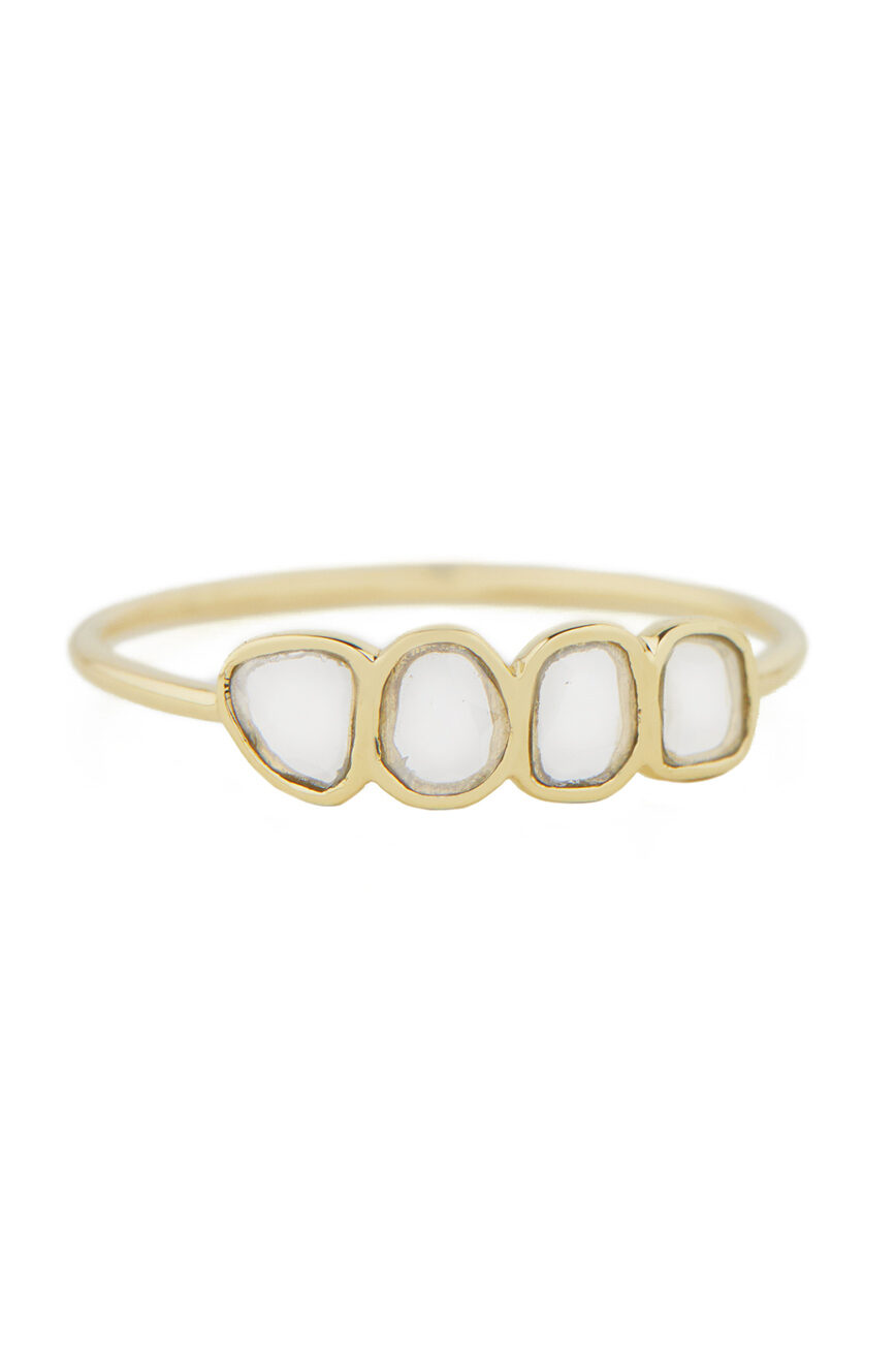 Celine Daoust Slice of the Universe Multi Diamond Slices ring