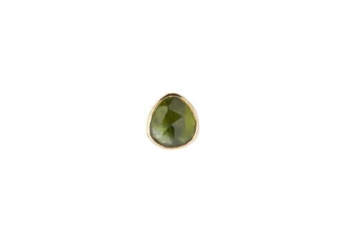 Celine Daoust One of a Kind Single Tourmaline Stud earring