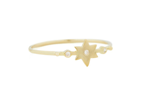 Celine Daoust From the Earth Star and Diamonds Ring