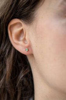 Celine Daoust One of a Kind Single Tourmaline Stud earring