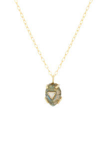 Celine Daoust From the Earth Labradorite and Diamond Necklace