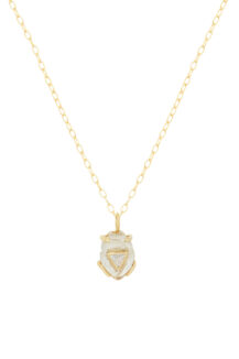Celine Daoust From the Earth Rock Quartz and Diamond Necklace