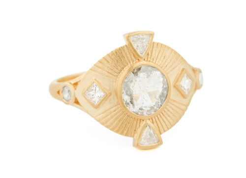 Celine Daoust Mandala Diamonds Ring