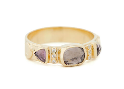 Celine Daoust Totem Tourmaline and Diamonds Ring
