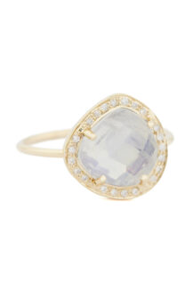 Celine Daoust One of a Kind Stella Moonstone and Diamond Ring