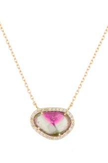 Celine Daoust One of a Kind Stella Sapphire and Diamond Necklace