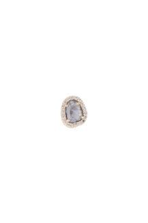 Celine Daoust Slice of the Universe Stella Grey Diamond slice and Diamonds Earring