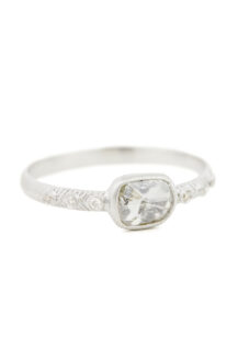 Celine Daoust Slice of the Universe Grey Diamond and Diamonds Ring