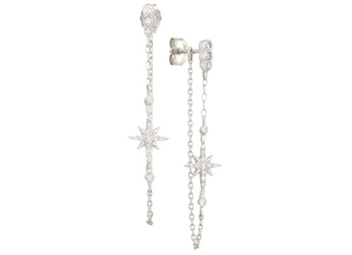Celine Daoust Stars and universe North Star Chain Earring Set