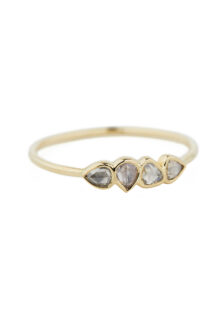 Celine Daoust One of a Kind 4 Grey Diamonds ring